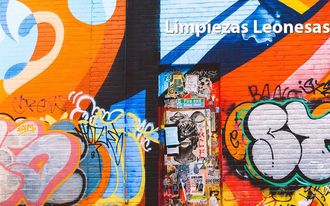Técnicas y claves para la limpieza de graffitis